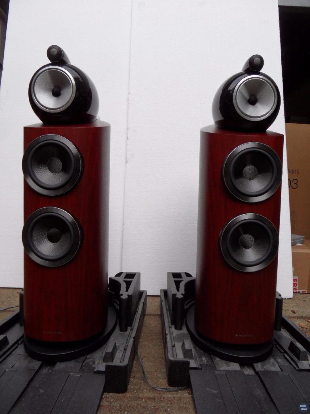 B & W - bowers & wilkins 802 D3 högtalare