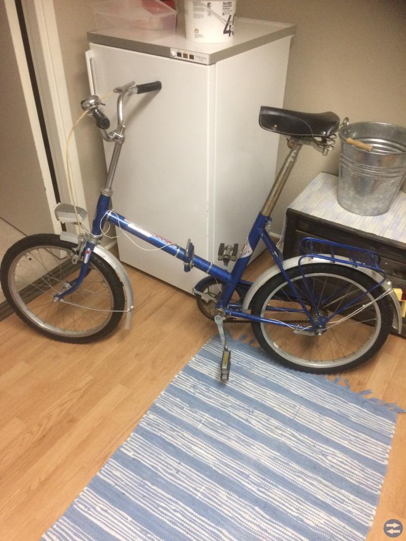 Vikbar cykel