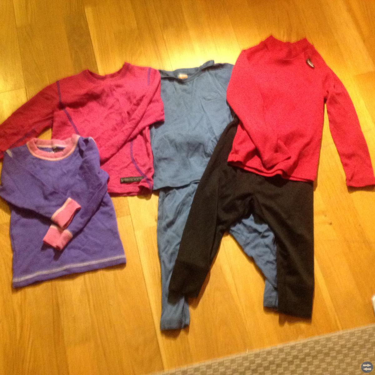 Vinterkläder och ullunderställ/underställ