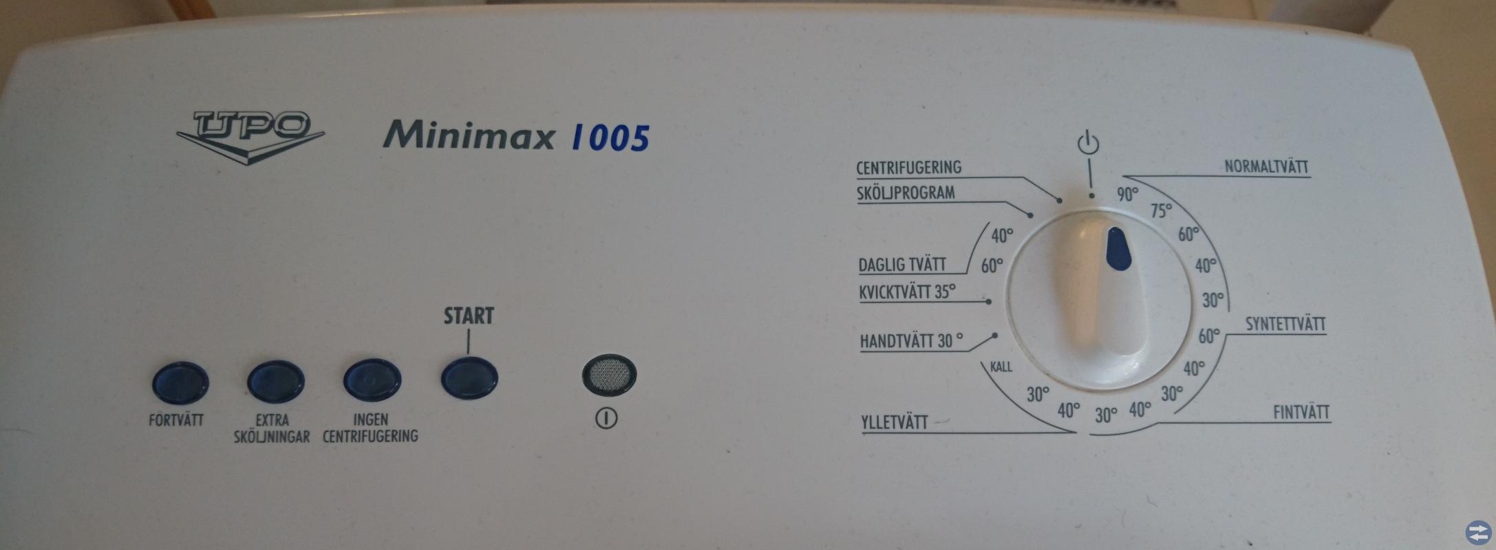Tvättmaskin - UPO Minimax I 005