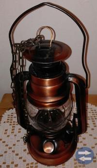 Olje / fotogen lampa -koppar