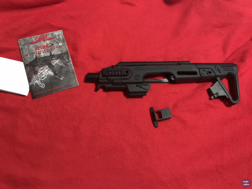 CAA Airsoft RONI G1 Pistol to Carbine Conversion k