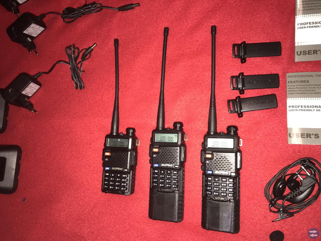 3ST Baofeng UV5R Walkie Talkie
