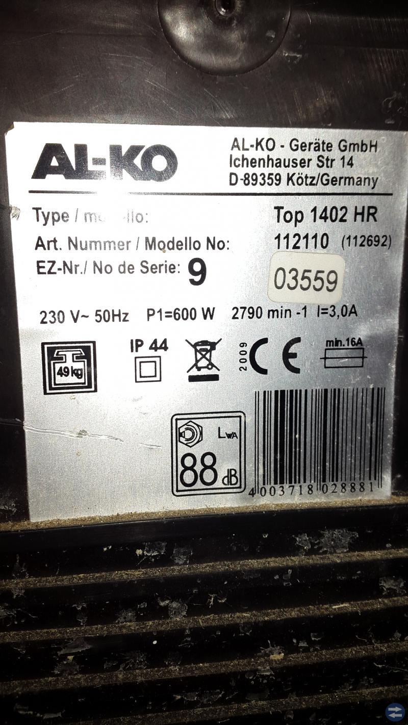 Cementblandare ALCO