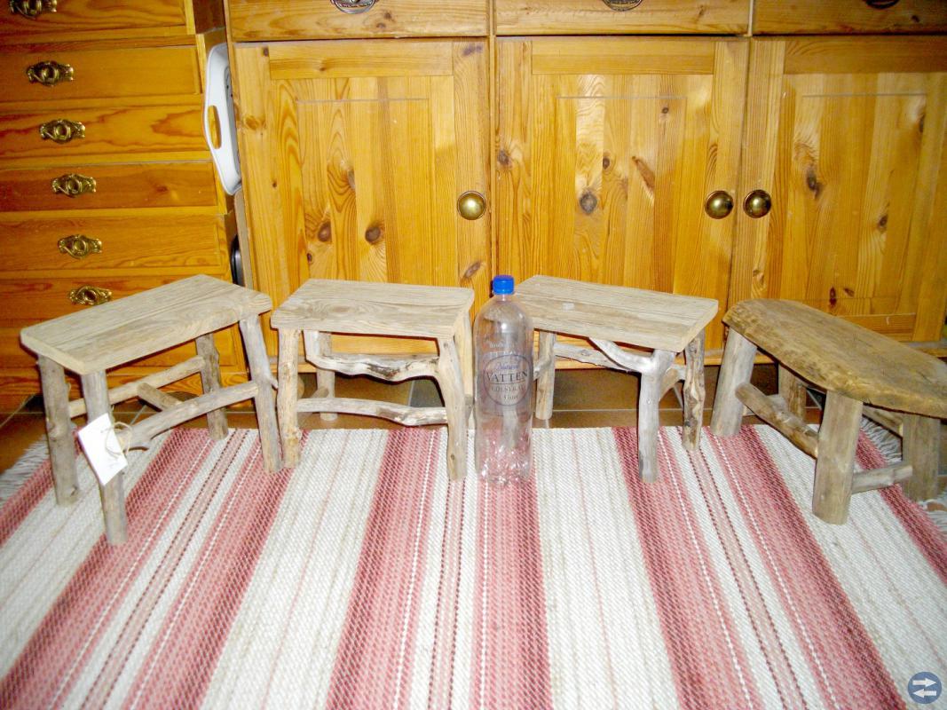 Småmöbler av Drivved..mm...Från 100 kr