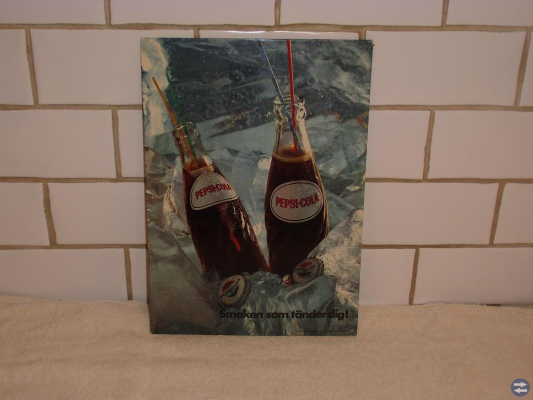 Reklamskylt pepsi-cola