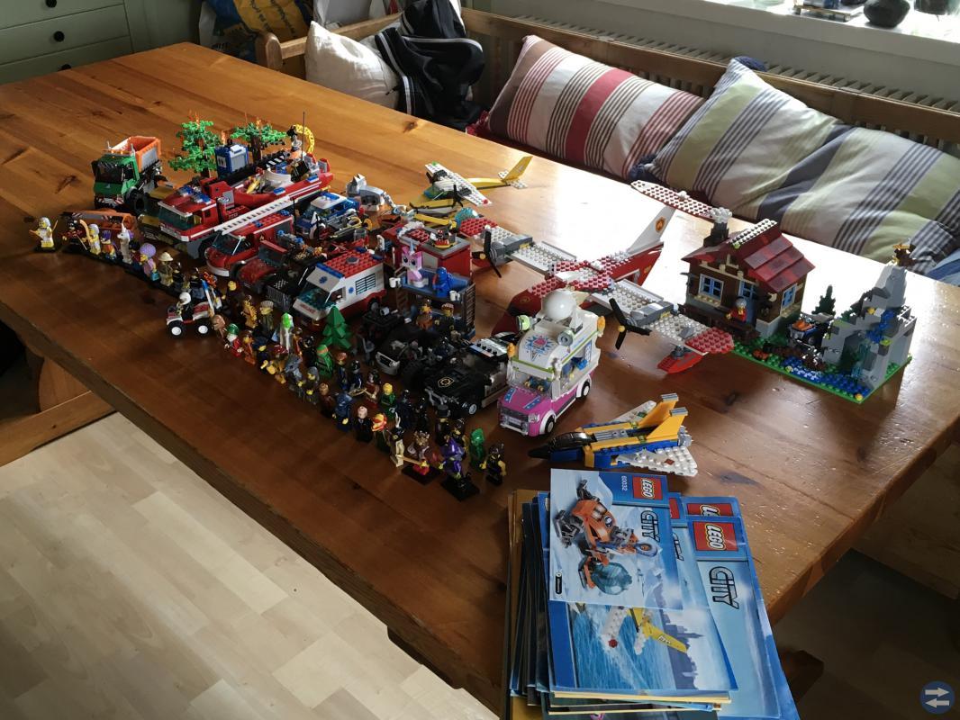 Mycket Lego!