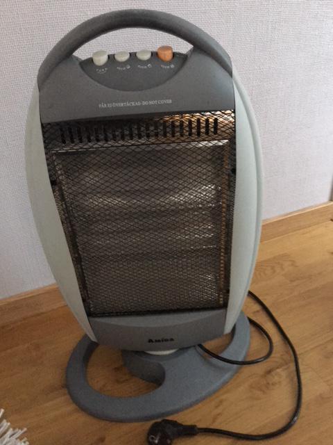 Värmare + värmefläkt