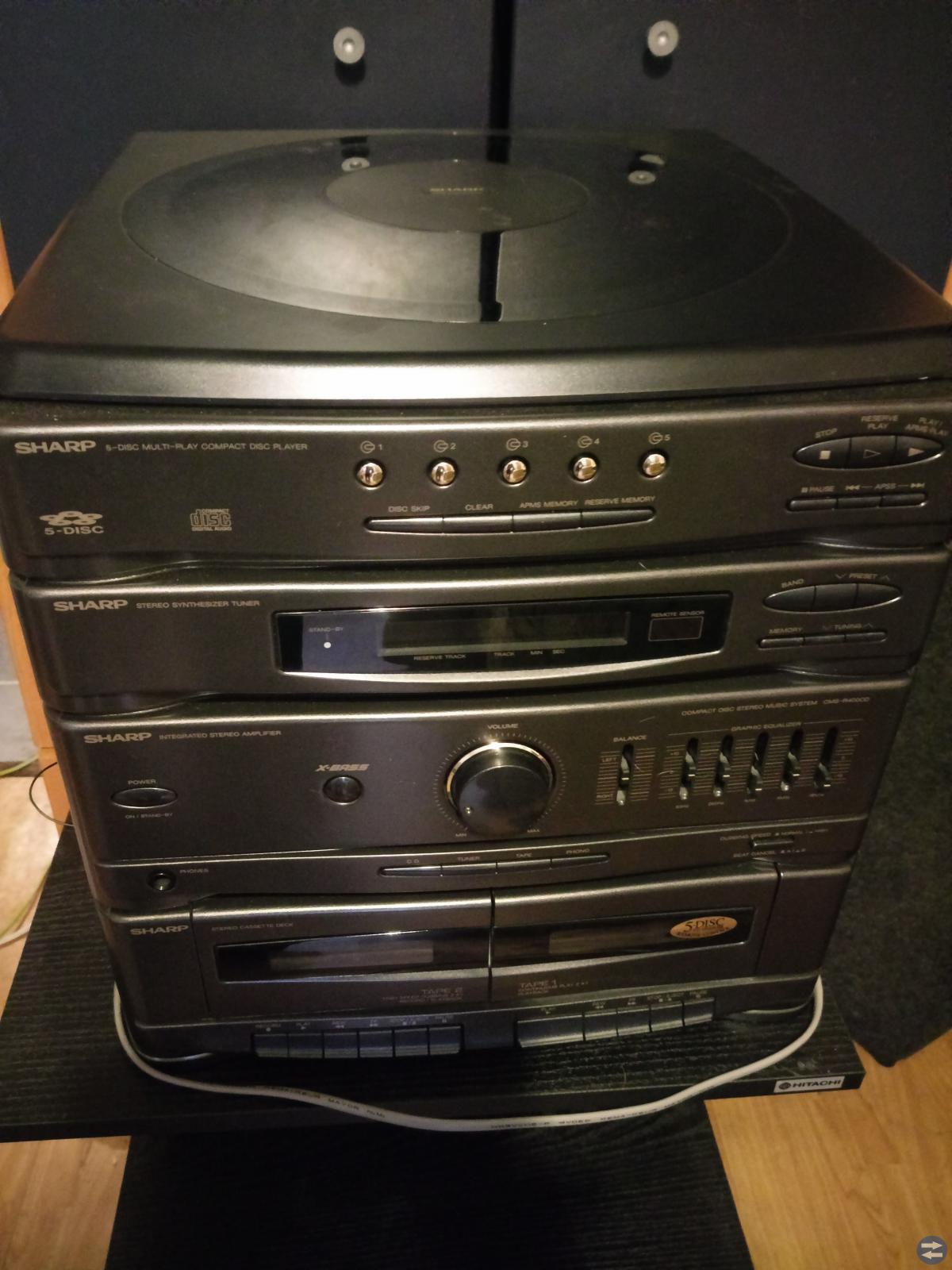 Två fina stereo-apparater!