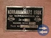 Mangel i gjutjärn-Norrhammars Bruk År 1936