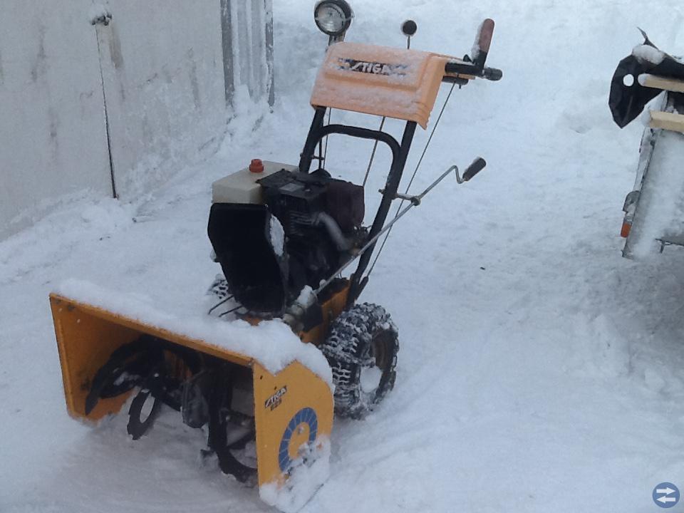 Stiga snöslunga 8 hk