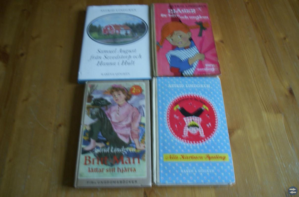 Astrid Lindgren böcker