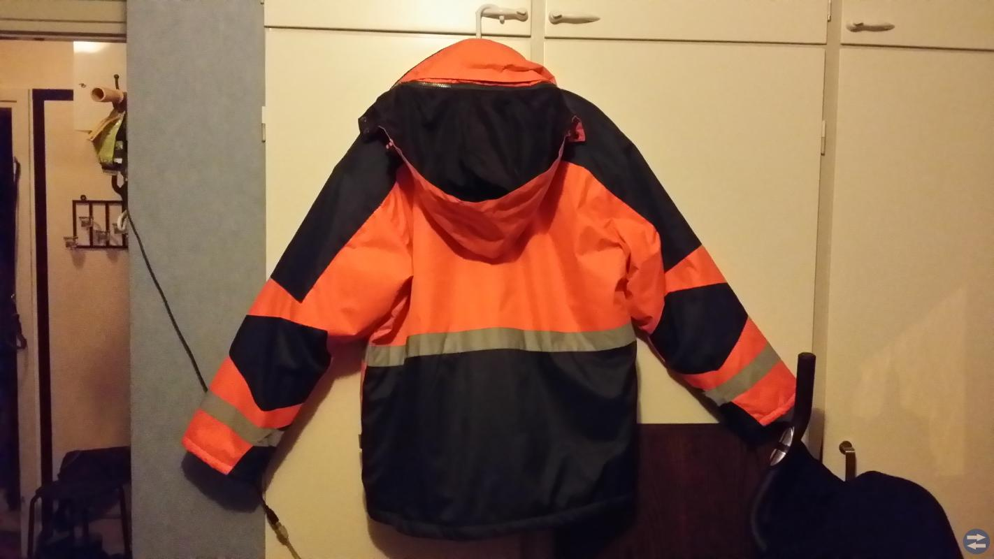 Jacka Typhoon sportswear orange XXL