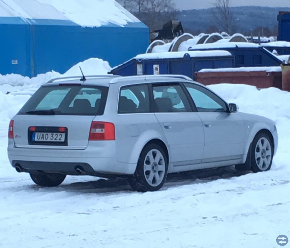 VÄLVÅDRAD AUDI S6 -03