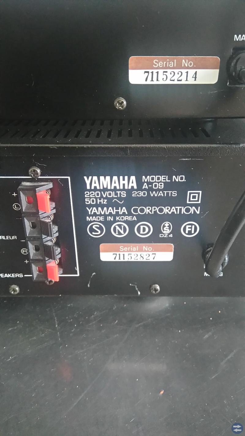 Yamaha förstärkare
