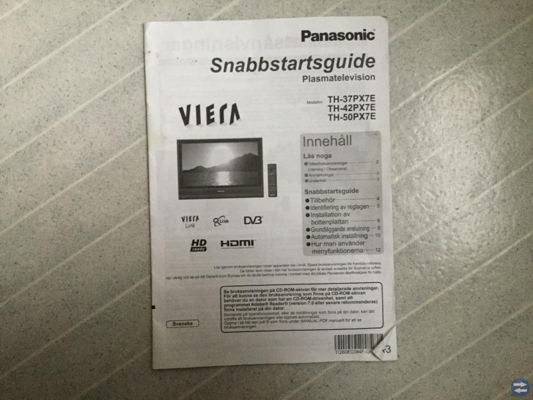 TV Panasonic Viera 37 tum
