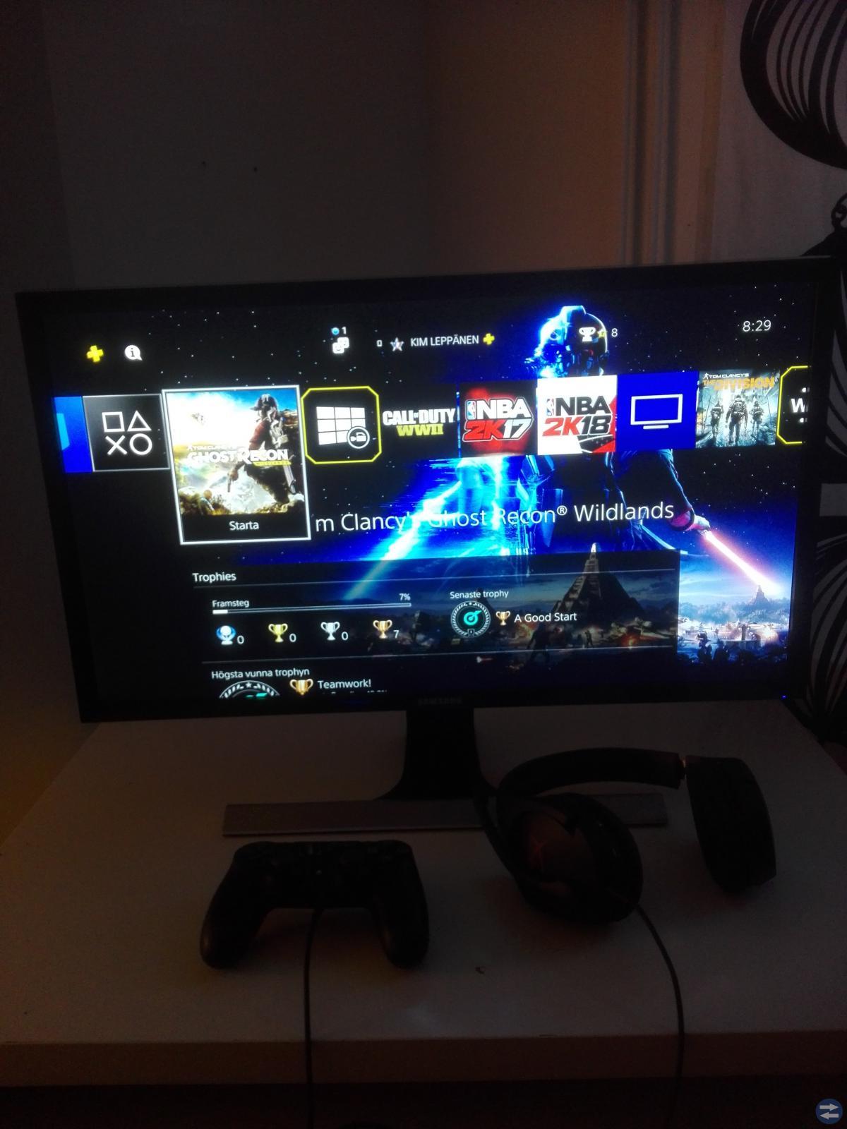 Samsung 4k skärm med 1ms till salu