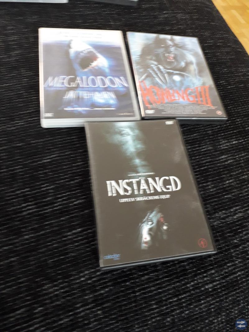Skräckfilmer DVD