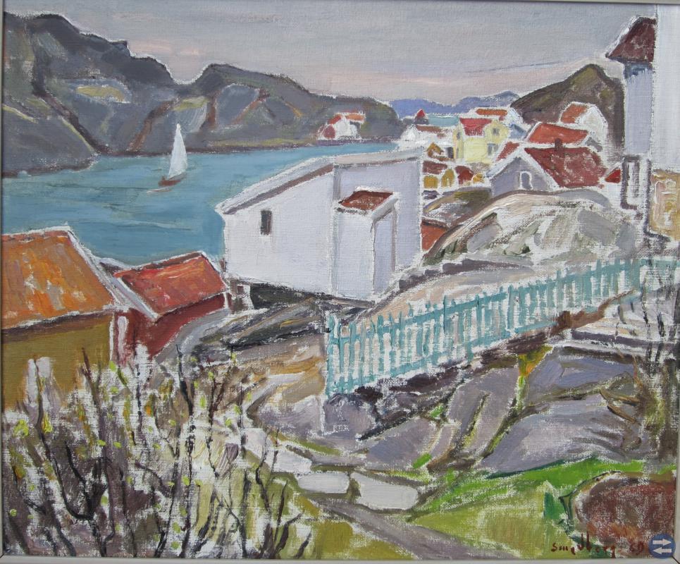 Fritz Smedberg , Från Rösberget, Kyrkesund 1969