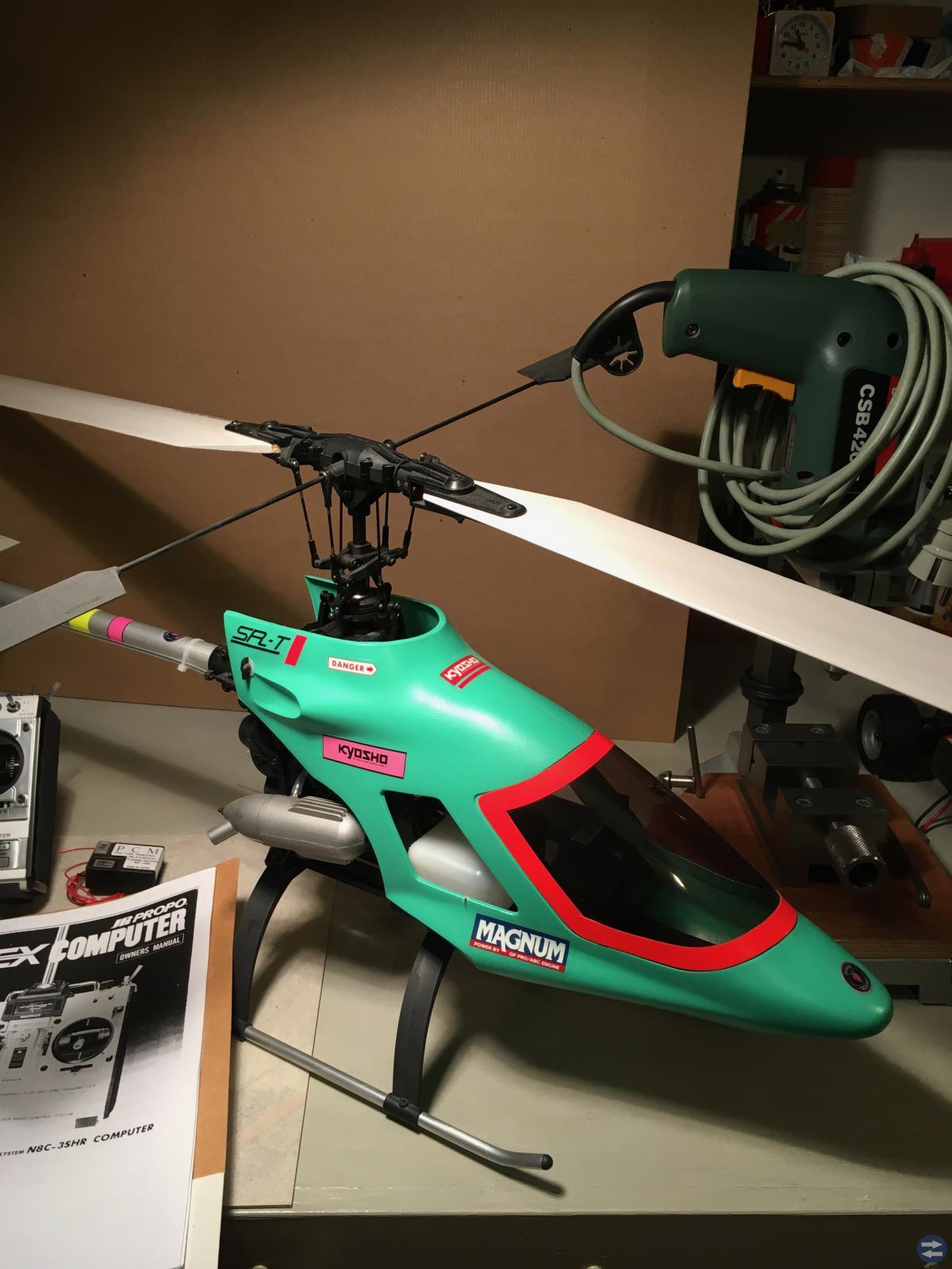 Helikopter Kyosho