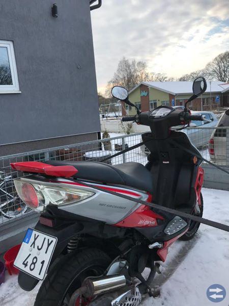 TGB jetfighter EU-moped