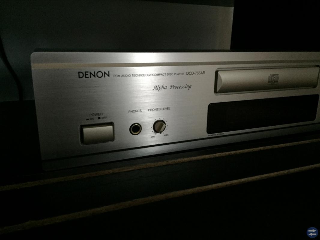 Denon förstärkare och CD