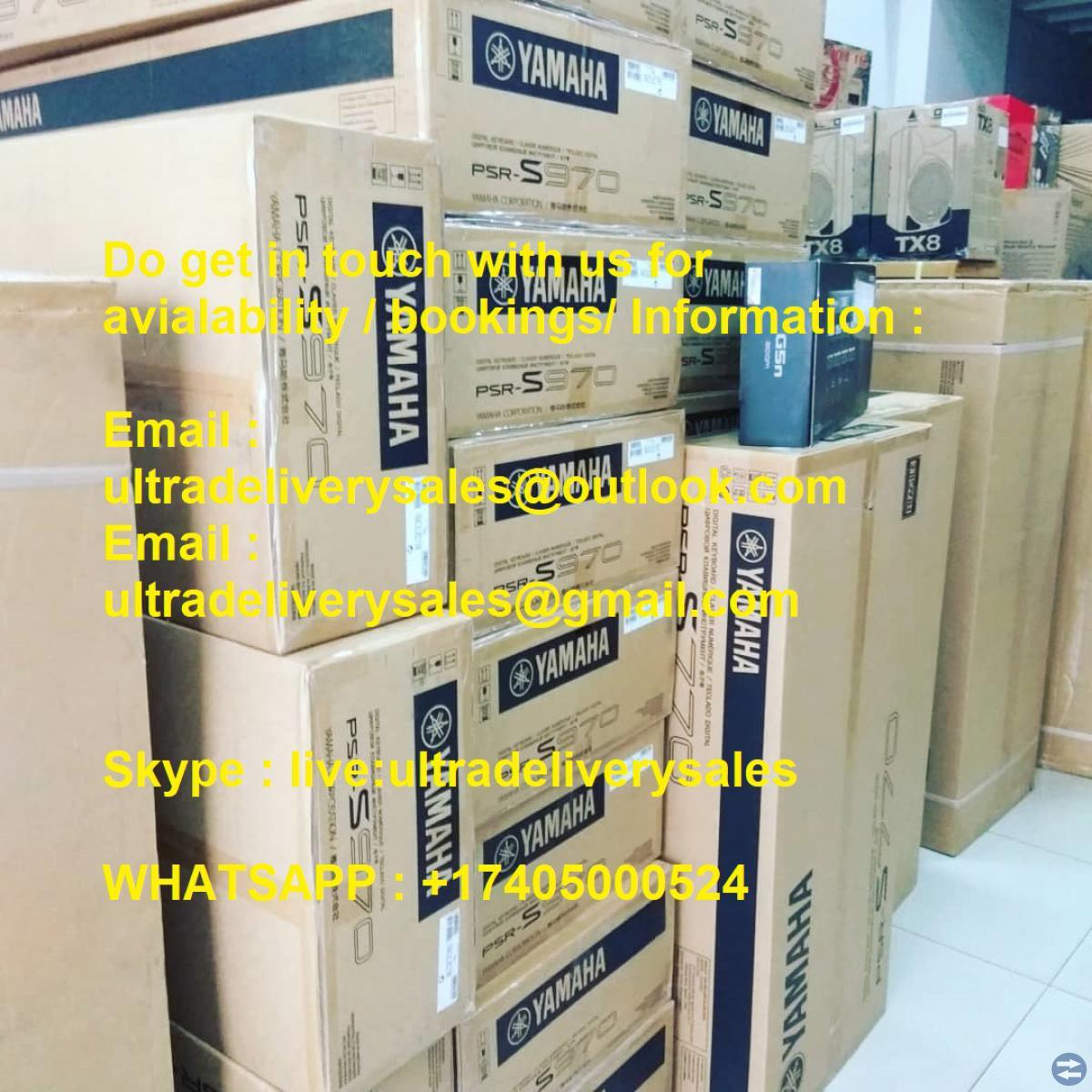 Försäljning: Yamaha Genos, Korg PA4X, Pioneer CDJ