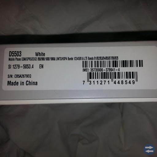 Telefon sony XPERIA Z1 Compact i original forpackn