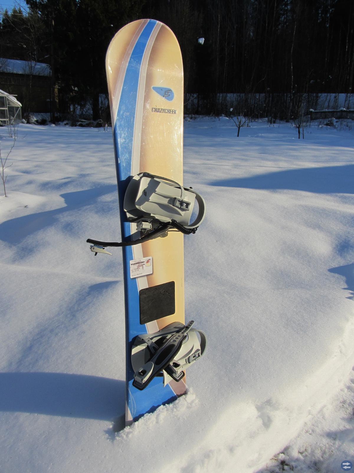 SNOWBOARD med väska