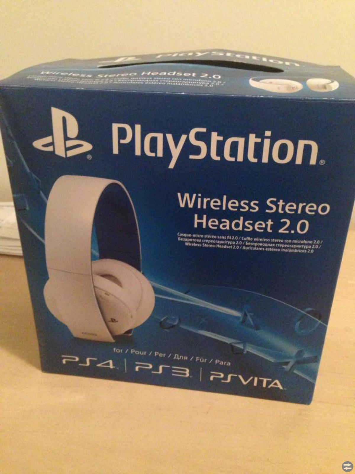 Headset 7.1 till Ps4/3/Vita
