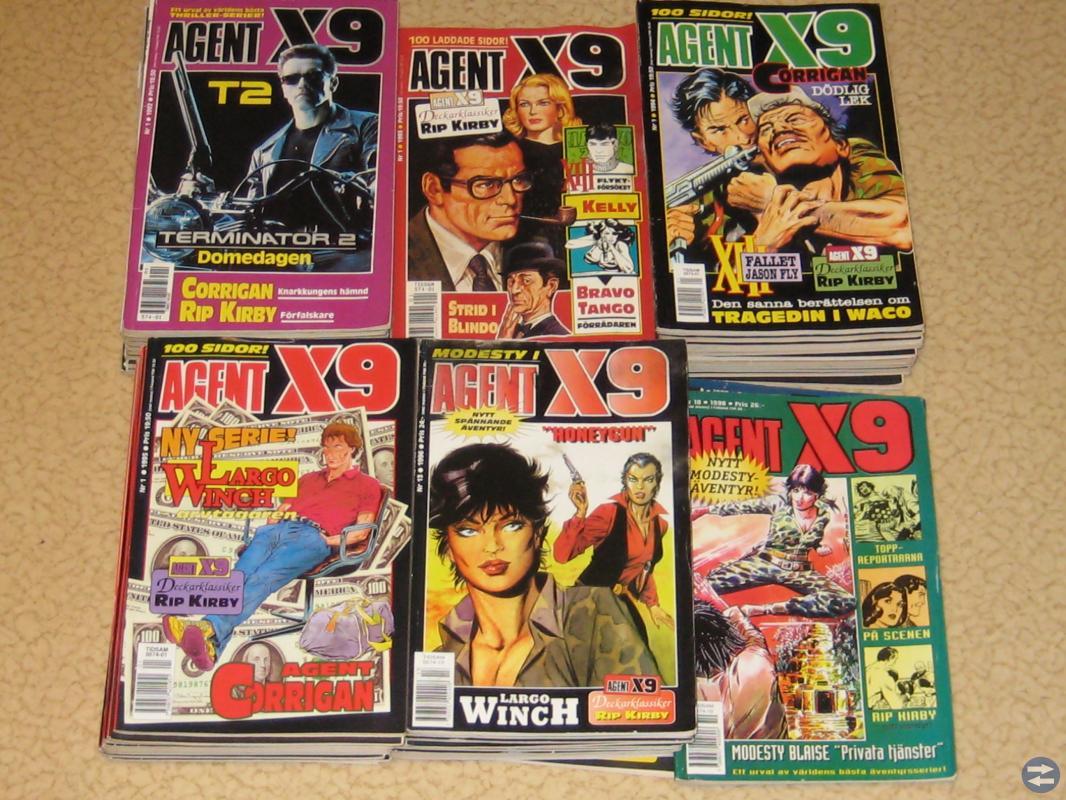 Serie-tidningar