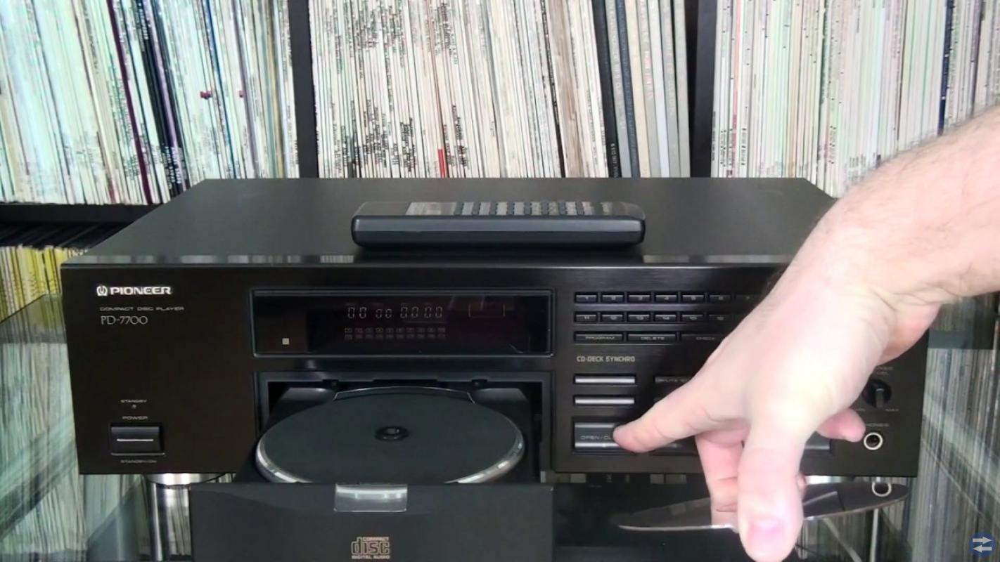 Pioneer CD spelare