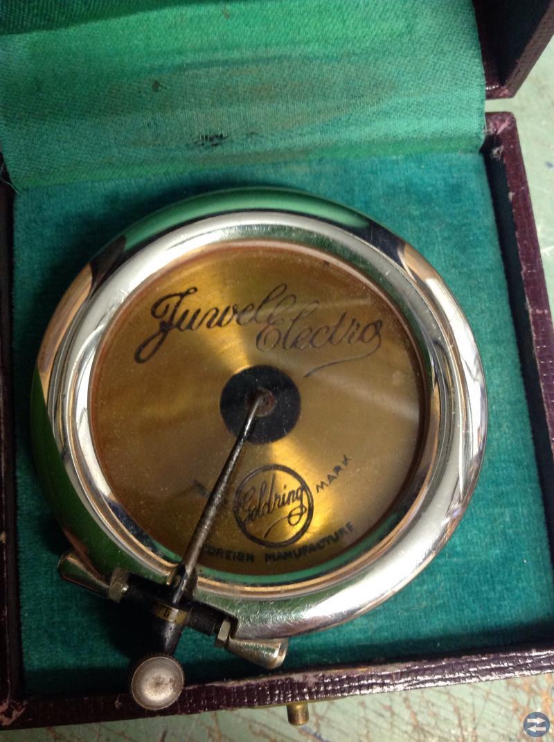 Huvud stenkakorspelare Parlophone Goldring Juwel