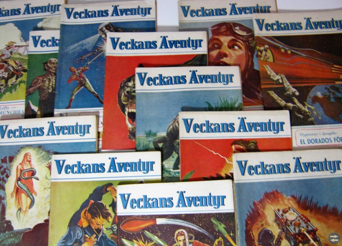 Serietidningar från 40-talet
