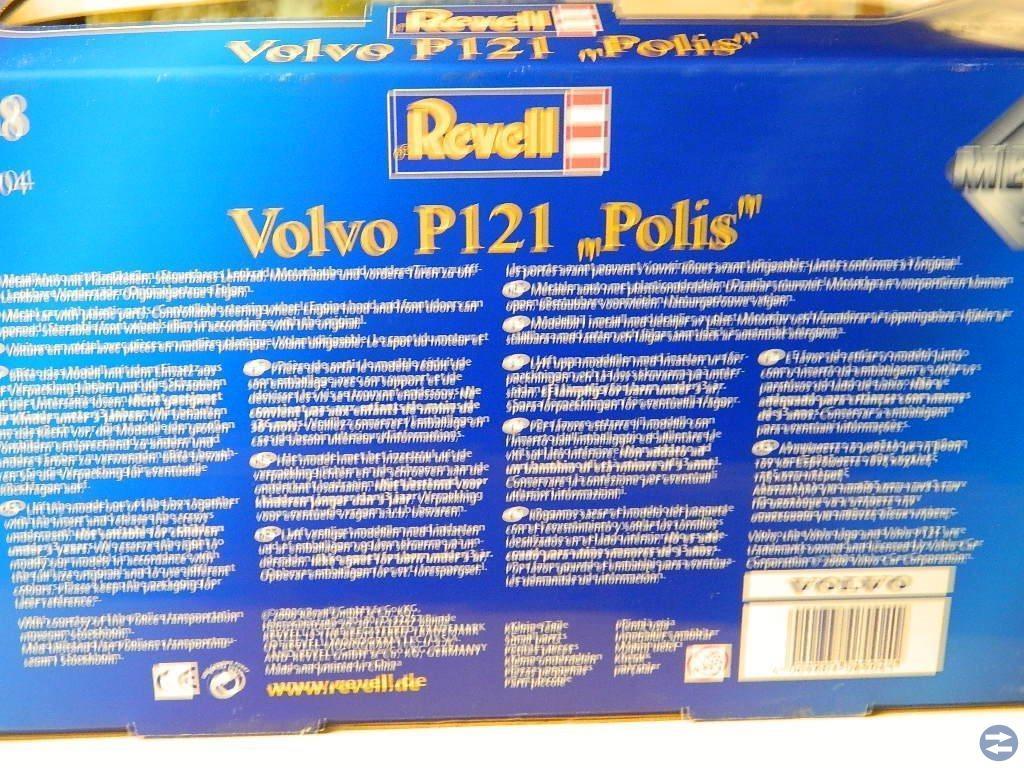 Volvo Amazon Polisbil P121 Skala 1:18 Längd:24 cm