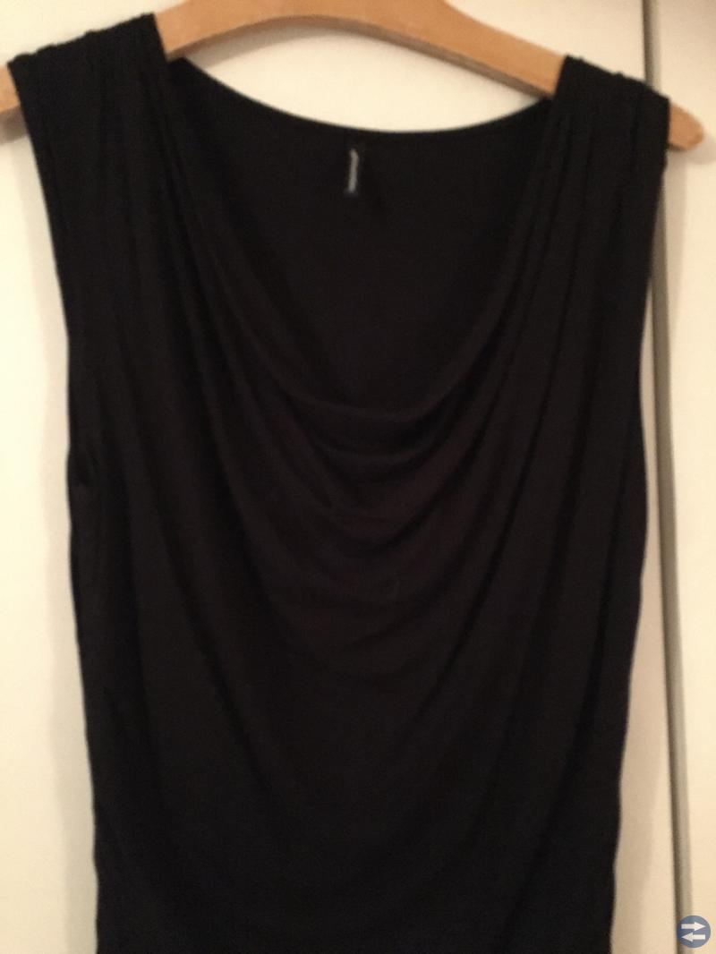 Svart tunika/klänning