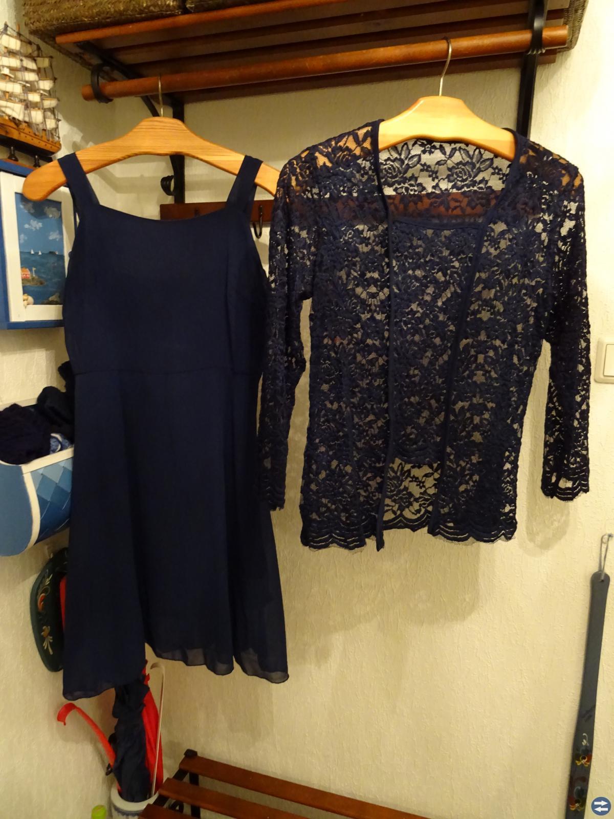 Ny 2-delad spetsklänning