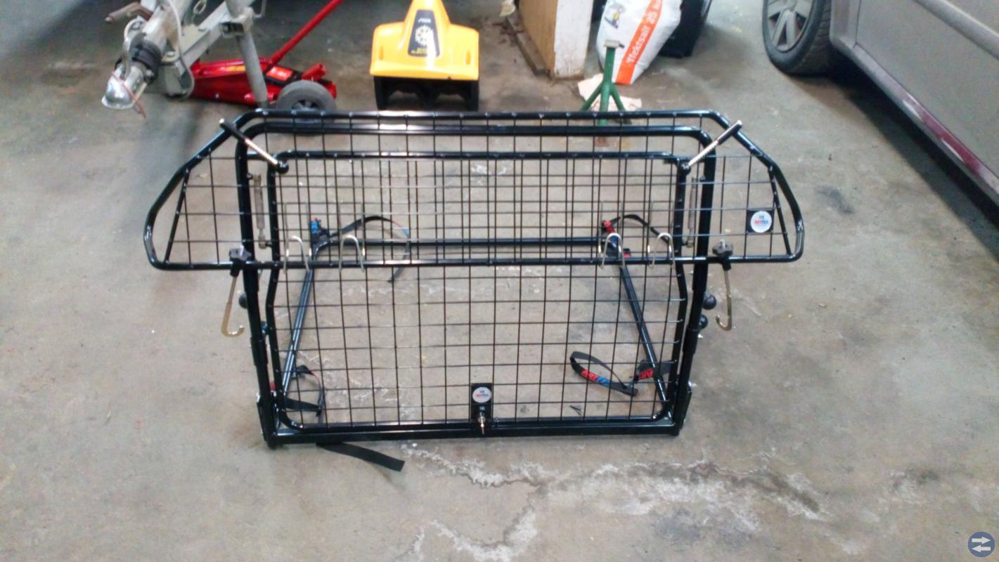 Hund grindar/bur+lastskydd