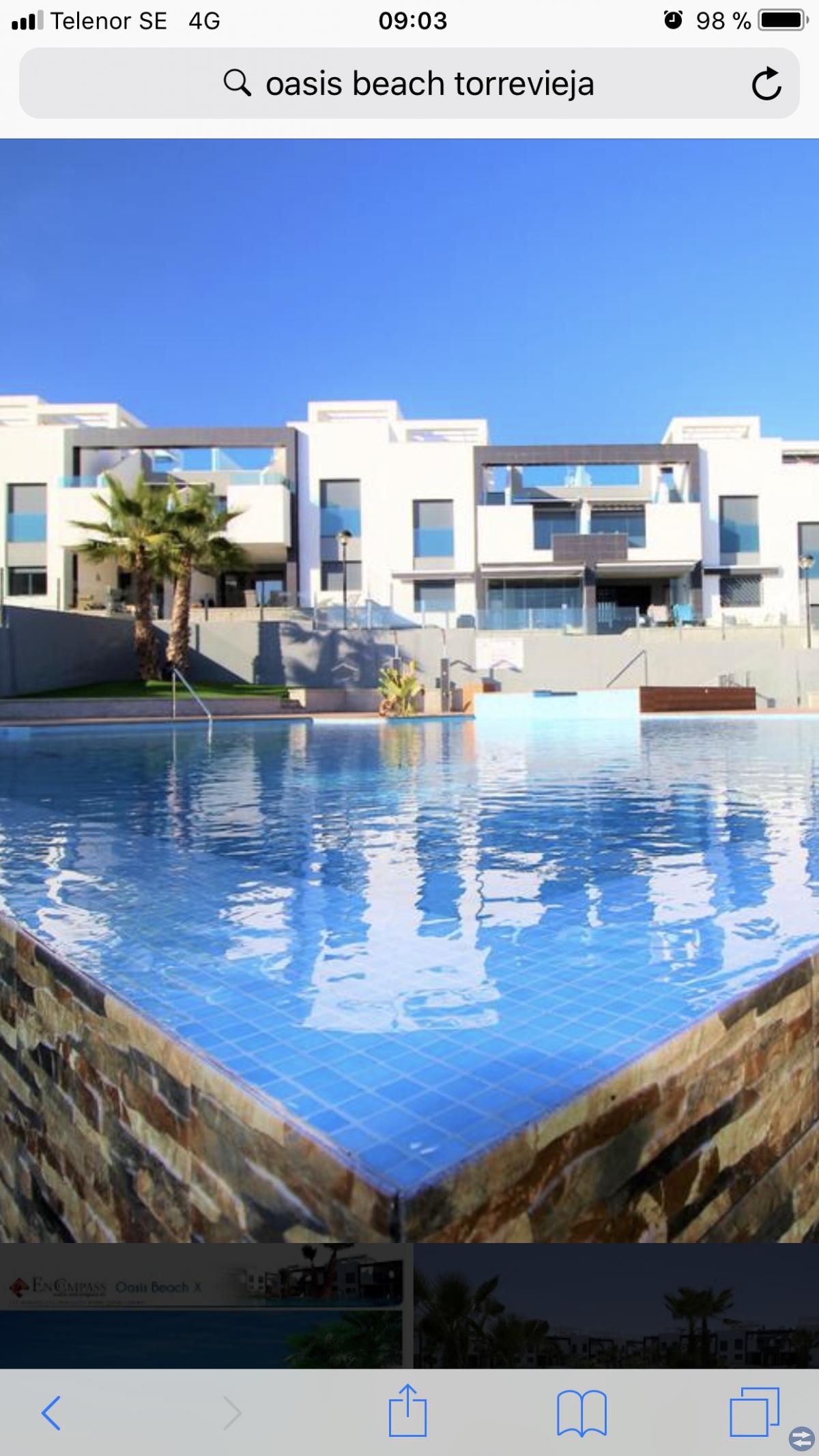 Lägenhet i Spanien/Torrevieja uthyres