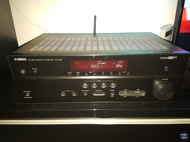 Yamaha receiver RX-V581 Ginexxa 300W JWC