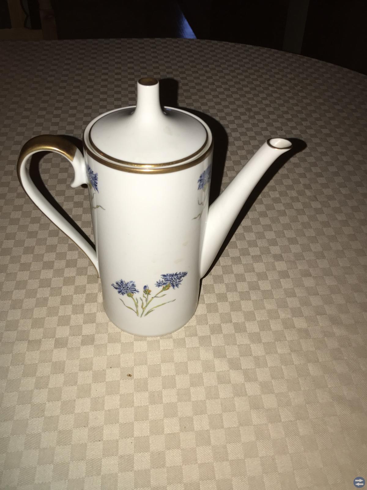 Kaffeservis Blåklint