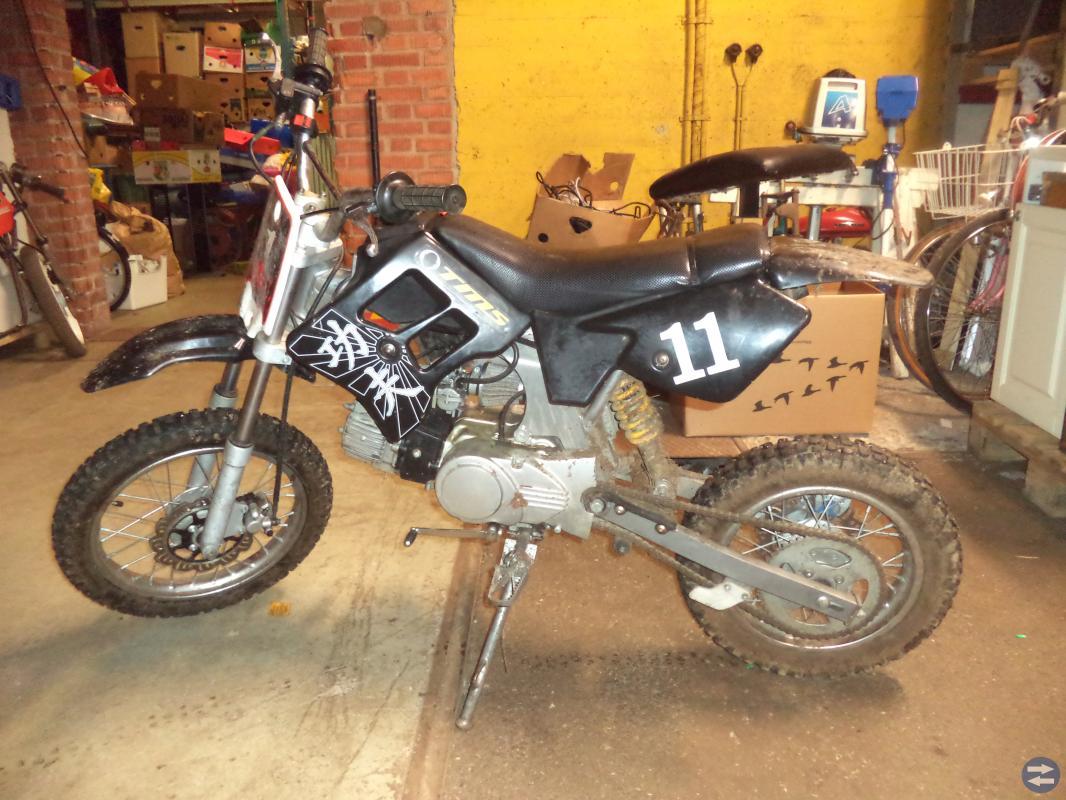 50cc 4-hjuling / ATV och 110cc Fiddy