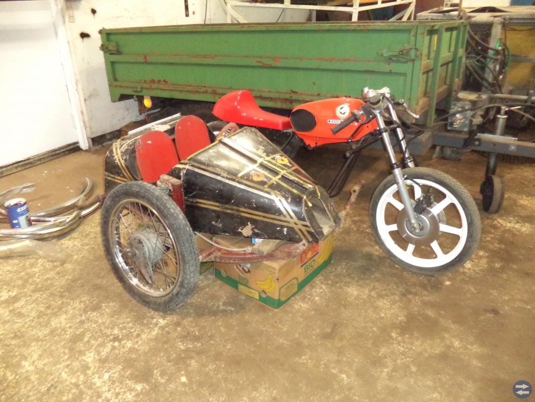 Sidovagn objekt för moped eller mc?
