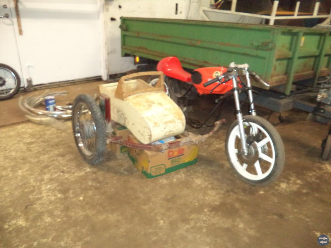 Moped eller mc - sidovagn?