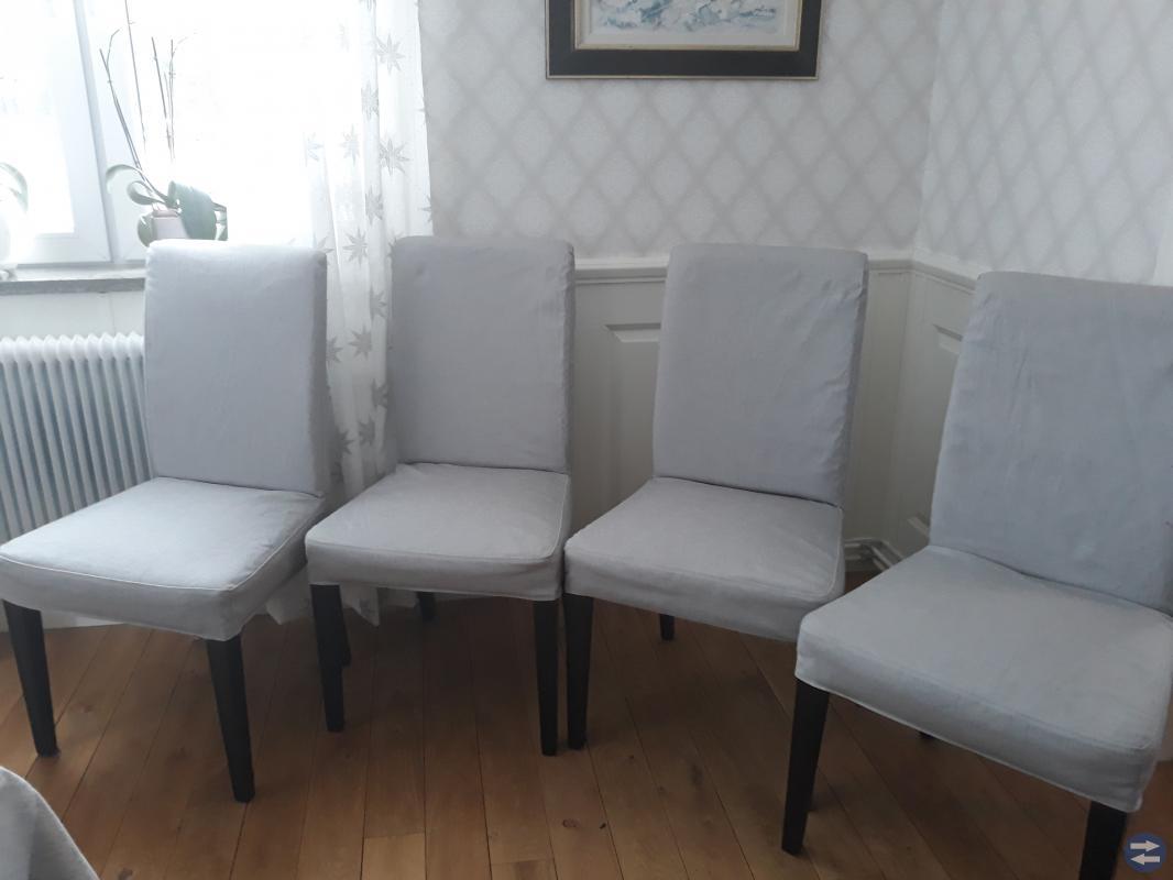 4 Henriksdals stolar från Ikea