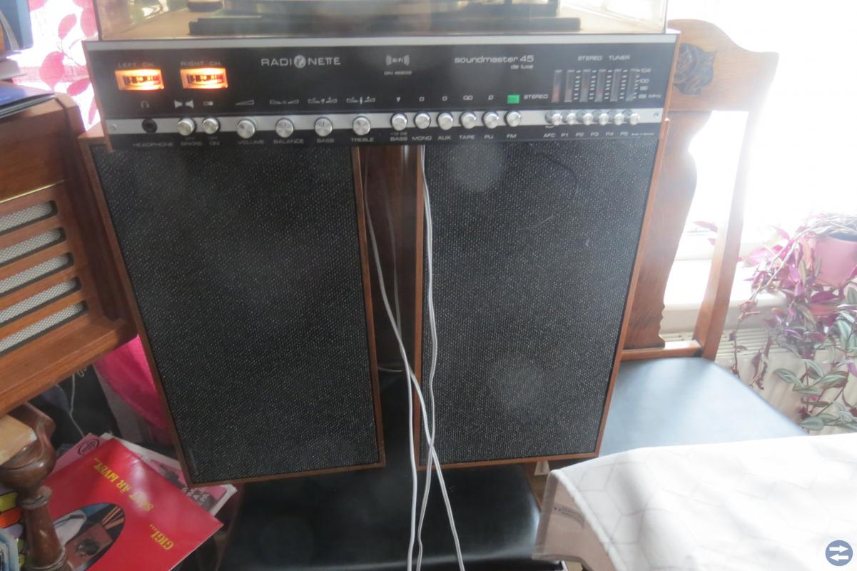 Skivspelare Radionette 60 tals vintage