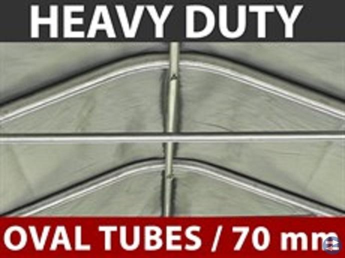 Dubbelt Garagetält 5,4 x 6 x 2,95 m PVC Nu! 8950: