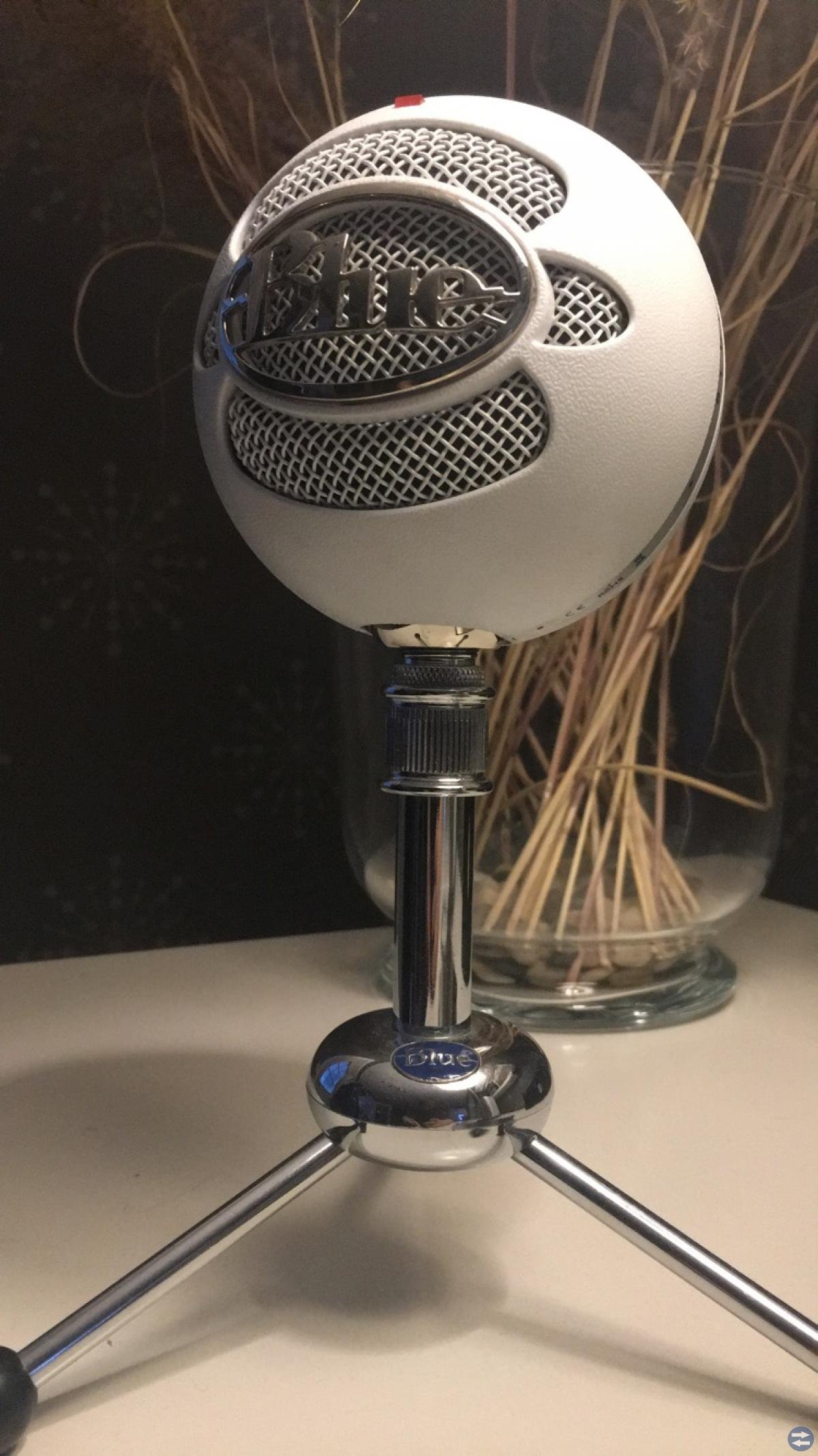 Blue Snowball Vit (Mikrofon)
