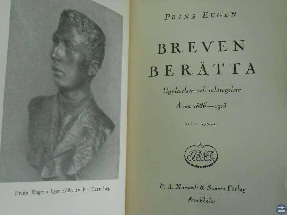 Prins Eugen Breven Berätta