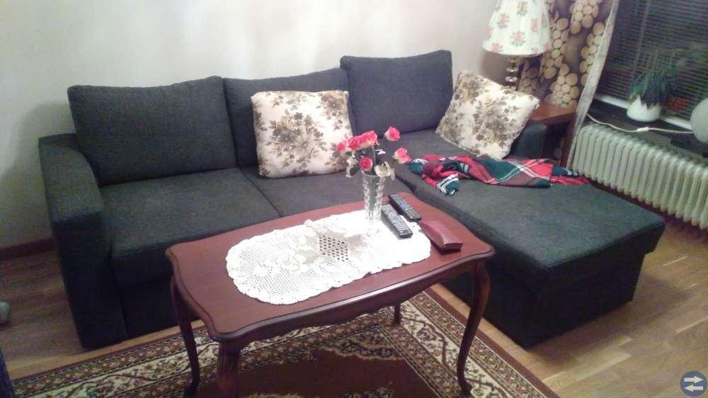Möbler, mattor, belysning